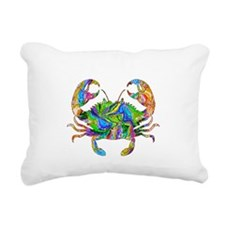 Crabby Rectangular Canvas Pillow