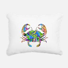 Crabby Rectangular Canvas Pillow