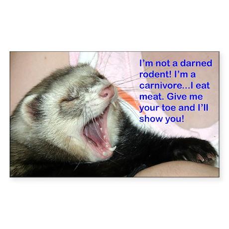 Not a rodent sticker