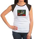 New Holland Honeyeater Women's Cap Sleeve T-Shirt