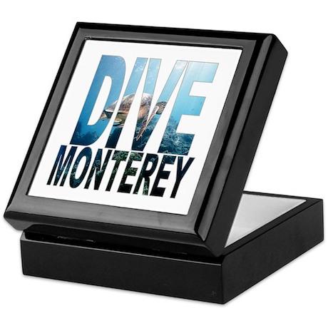 DIVE Monterey Keepsake Box