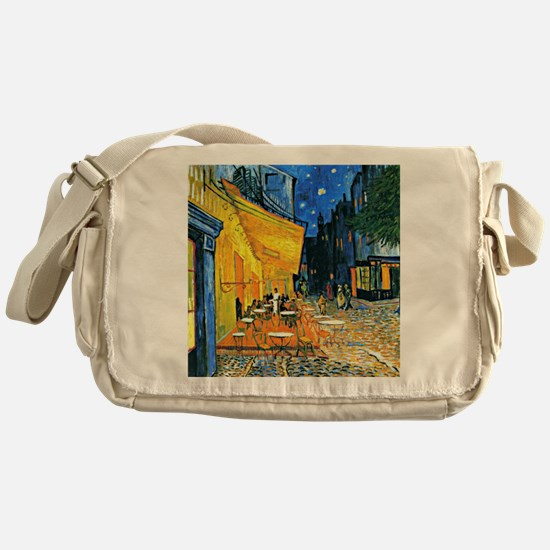 Van Gogh - Cafe Terrace Messenger Bag