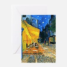 Van Gogh - Cafe Terrace Greeting Card