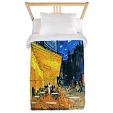 Van Gogh - Cafe Terrace Twin Duvet