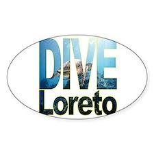 DIVE Loreto Oval Decal
