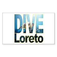 DIVE Loreto Rectangle Decal