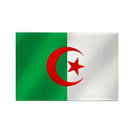 Flag of Algeria Rectangle Magnet