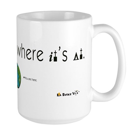 Geography Is Where It's At Large Mug