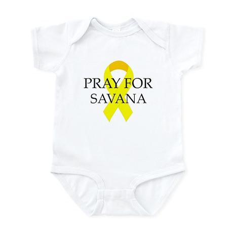 Pray for Savana Infant Bodysuit