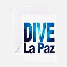 DIVE La Paz Greeting Cards (Pk of 10)