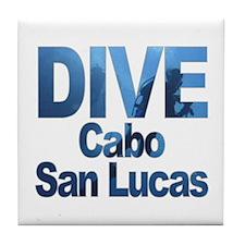 DIVE Cabo San Lucas Tile Coaster