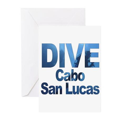 DIVE Cabo San Lucas Greeting Cards (Pk of 10)