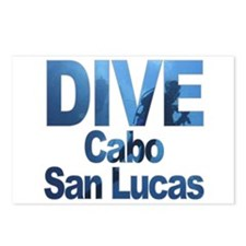 DIVE Cabo San Lucas Postcards (Package of 8)