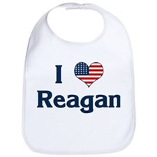 I Love Reagan Bib