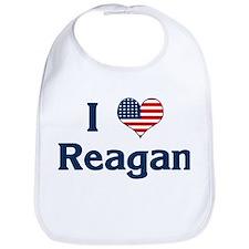 I Love Reagan Bib