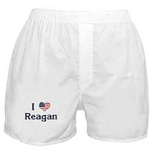 I Love Reagan Boxer Shorts