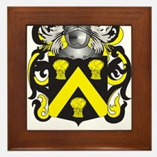 Wickes Family Crest (Coat of Arms) Framed Tile