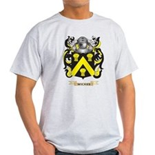 Wickes Family Crest (Coat of Arms) T-Shirt