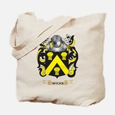 Wicks Family Crest (Coat of Arms) Tote Bag