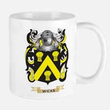 Wicks Family Crest (Coat of Arms) Mugs
