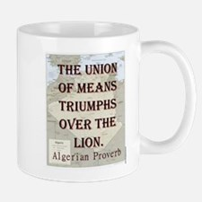 The Union Of Means - Algerian Mug
