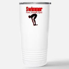 BORN TO SWIM Travel Mug