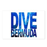 Dive bermuda Postcards