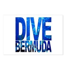 DIVE Bermuda Postcards (Package of 8)