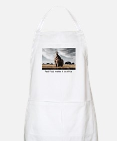 Fast Food in Africa BBQ Apron
