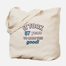 88 year old birthday designs Tote Bag