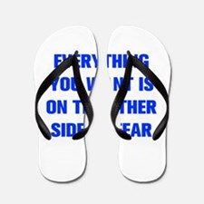 everything-you-want-fear-AKZ-BLUE Flip Flops