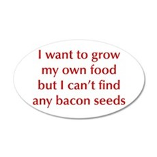 bacon-seeds-opt-dark-red Wall Decal