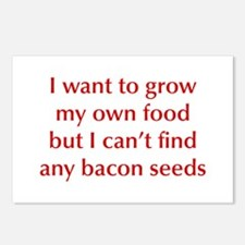 bacon-seeds-opt-dark-red Postcards (Package of 8)