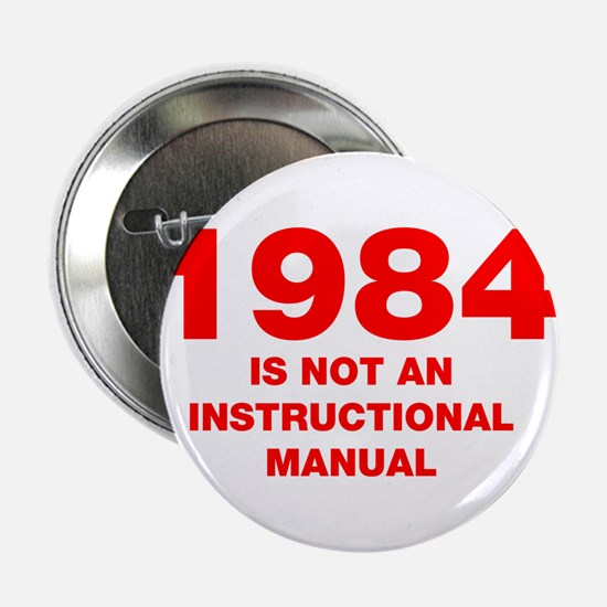 """1984-HEL95-RED 2.25"""" Button (10 pack)"""