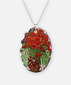 Van Gogh - Red Poppies and Dai Necklace