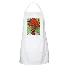 Van Gogh - Red Poppies and Daisies Apron