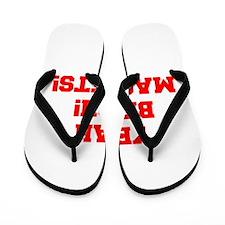 yeah-bitch-magnets-FRESH-RED Flip Flops