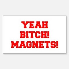 yeah-bitch-magnets-FRESH-RED Decal