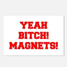 yeah-bitch-magnets-FRESH-RED Postcards (Package of