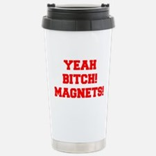 yeah-bitch-magnets-FRESH-RED Travel Mug