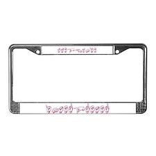 Stephanie License Plate Frame