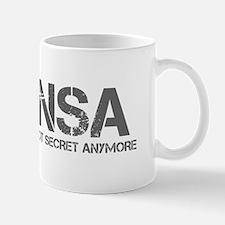 nsa-not-secret-anymore-cap-gray Mugs