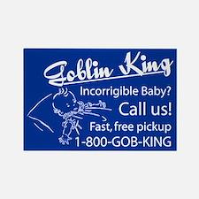 Goblin King Rectangle Magnet
