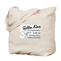 Goblin King Tote Bag
