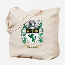 Wilson Family Crest (Coat of Arms) Tote Bag