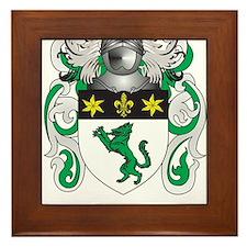 Wilson Family Crest (Coat of Arms) Framed Tile