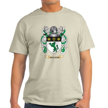 Wilson Family Crest (Coat of Arms) T-Shirt