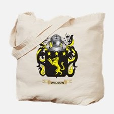Wilson England Family Crest (Coat of Arms) Tote Ba