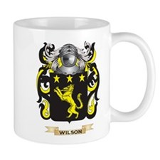 Wilson England Family Crest (Coat of Arms) Mugs