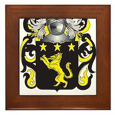 Wilson England Family Crest (Coat of Arms) Framed